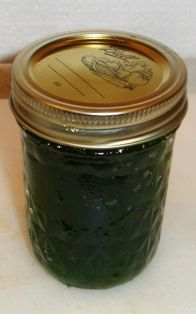 Jalapeno jelly. I can't wait to make some, pour it over cream cheese and scoop it up on a tasty cracker.