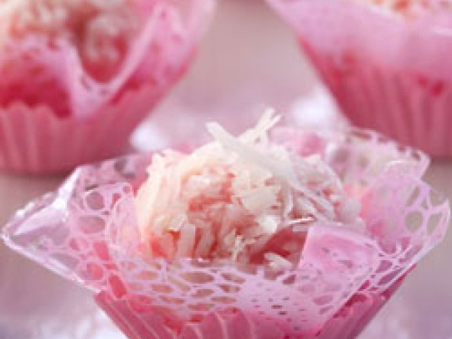 Receita Brigadeiro rosa