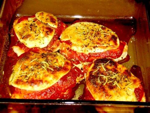 Pan Chicken Parmesan