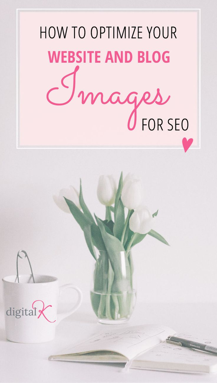 Optimize website and blog images for SEO