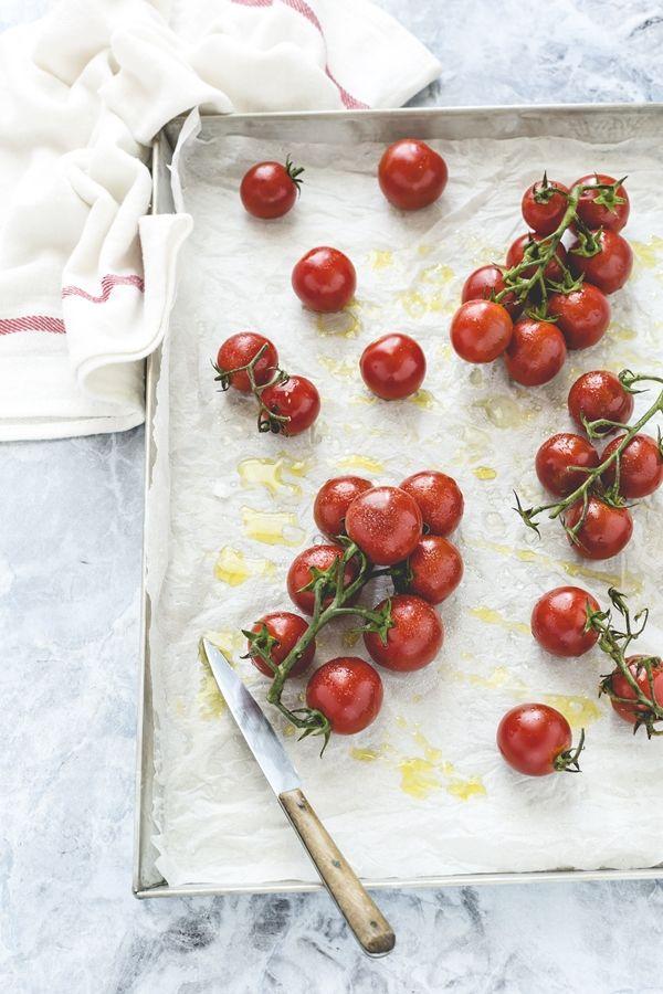 pomodorini confit - #pomodorini caramellati - pomodorini al forno - #tomato confit bruschetta
