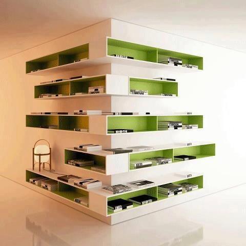 Een nieuwe manier van opruimen; genoeg plaats en een echte blikvanger in je interieur!
