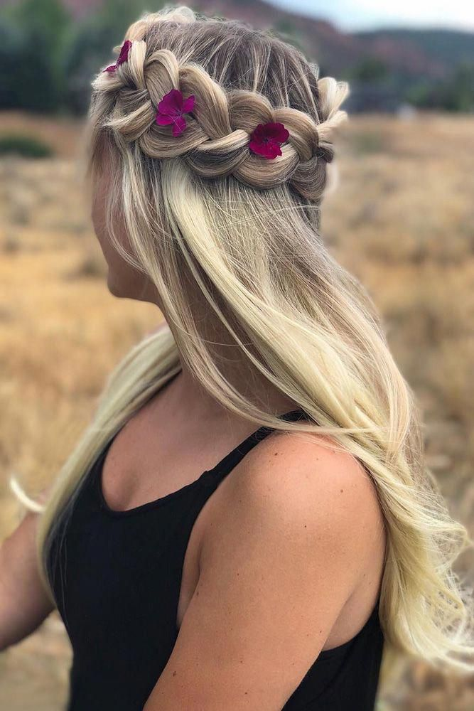 42 Boho Wedding ceremony Hairstyles