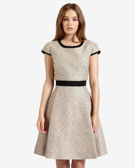 Pocket detail skirt dress - Pale Pink | Dresses | Ted Baker UK