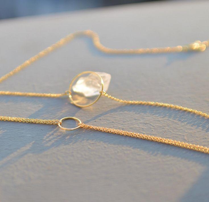 Velká karma, pozlaceno, AG náhrdelník