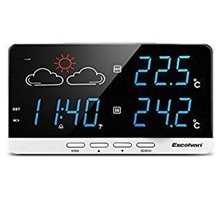 LINK: http://ift.tt/2xR81ga - EL TOP 10 DE LOS RELOJES METEOROLÓGICOS: SEPTIEMBRE 2017 #reloj #relojmeteorologico #estacionmeteorologica #relojdespertador #termometro #electronica #despertador #tiempo #hora #temperatura #hogar #cocina #excelvan #lcd => La lista con los 10 Relojes Meteorológicos mejor valorados - LINK: http://ift.tt/2xR81ga