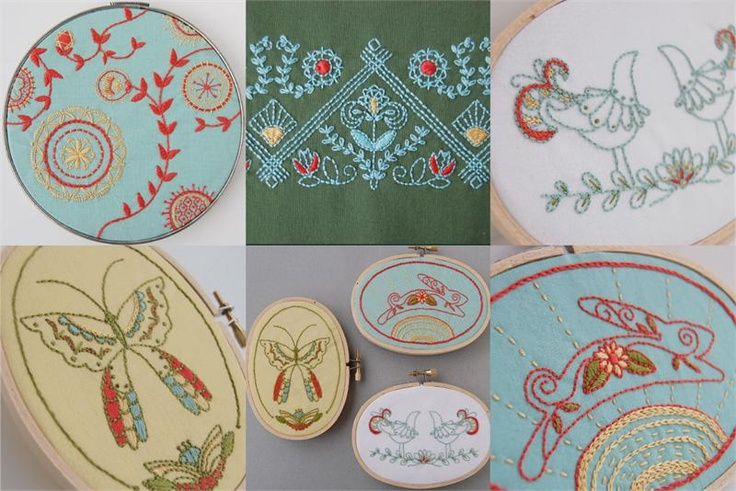 Mexican embroidery patterns from septemberhouse so time