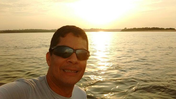 Por do sol em Marabá/PA.