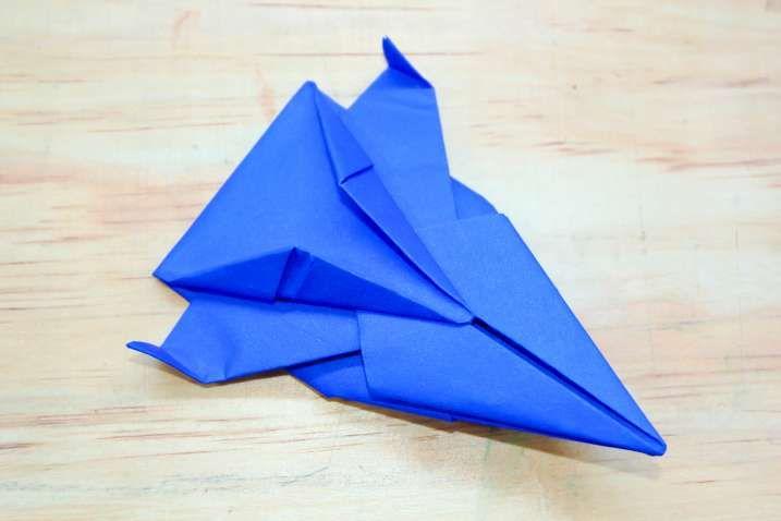 Lovely Origami Spaceship Origami Easy, Origami, Origami Design