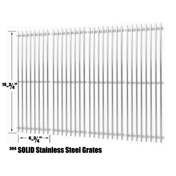 4 PACK STAINLESS COOKING GRID FOR CHAR-GRILLER 2121, 2123, 2222, 2828, 3001, 3030, 3725, 4000, 5050, 5252, 3008 GAS GRILL MODELS Fits Compatible Char-Griller Models : 2123 , 2222 , 2828 , 3001 , 3008 Chargriller , 3030 , 3725 , 4000 Chargriller , 5050 , 5252 Chargriller , Char-Griller 2121 , Char-Griller 4000