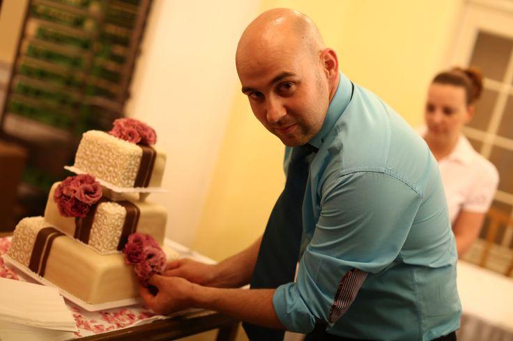 Wedding cake decoration...