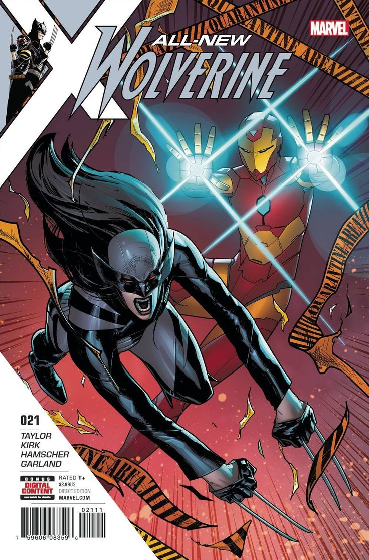 ALL NEW WOLVERINE #21 (2017)