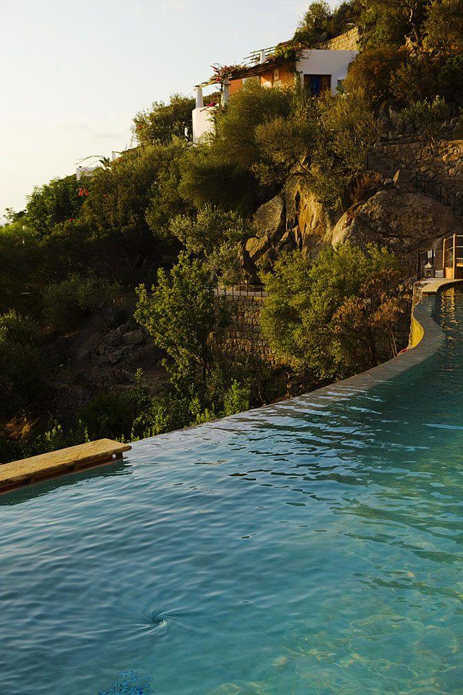 Hotel Raya - Panarea- piscina geotermica