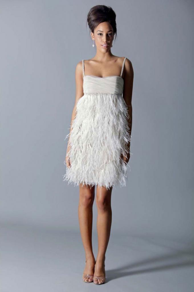 127 best Wedding Fashion images on Pinterest | Wedding frocks, Short ...