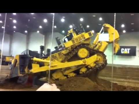 This Caterpillar dozer demonstration takes place at the Edwards testing facility.  You may not think too much about this video till the end of the demo and realize that this technology could save your life and expand your universe of job sites. Check out the video at http://blog.rockanddirt.com/industry-news/the-latest-technology-for-caterpillar-bulldozers/#