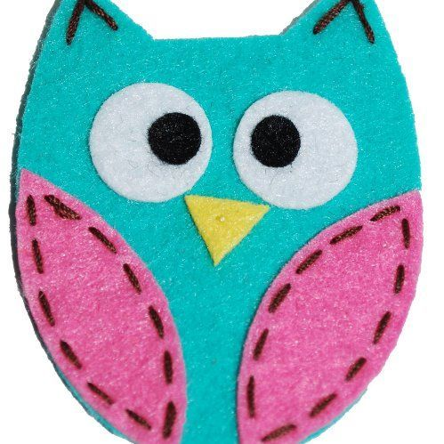 simple sewing and gluing cute as a button craft idea