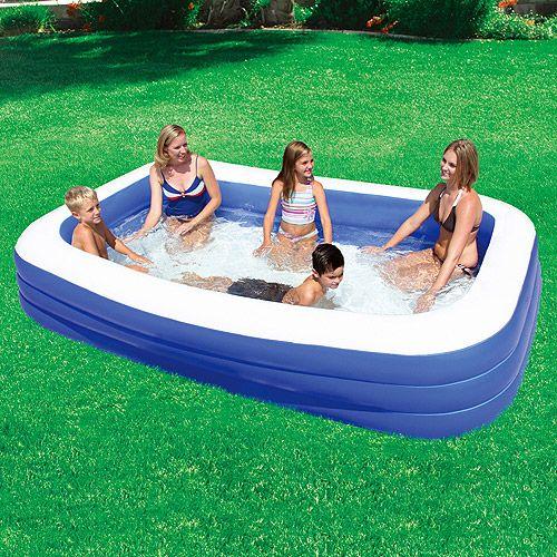 Best 25 portable swimming pools ideas on pinterest - Intex swim center family lounge pool blue ...