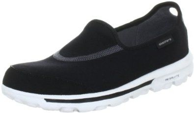 a65d01254d5f Skechers Women s Go Walk Slip-On Now for 35.90. Synthetic and mesh. Rubber  sole. Flex Comfort Outsole. Comfortable. Travel Shoe. Breathable.