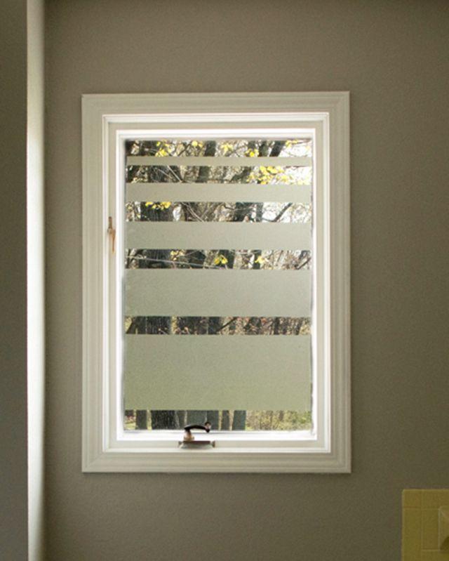 Best 25 Bathroom Window Privacy Ideas On Pinterest: 25+ Best Ideas About Frosted Window On Pinterest