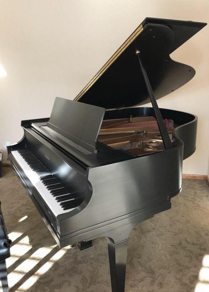 Item 1949 Baldwin Baby Grand Piano Model R 5 8 Satin Black Sn 108866 Ebay Baby Grand Pianos Piano Grand Piano