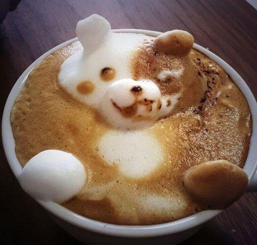 3D Latte Art od mistrza z Japonii