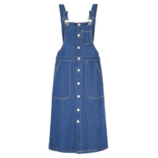 Fashion Denim Midi Dress Women Off Shoulder Female Straight Dress Street Style Solid Ladies Overalls Dress