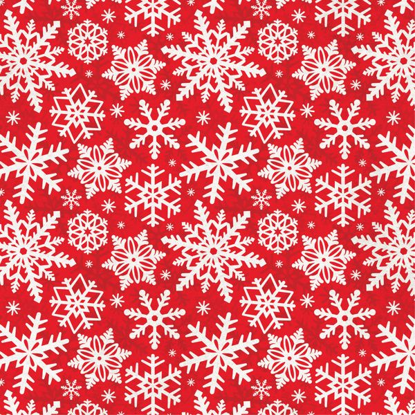 Traditional Christmas Scrapbook paper by Courtney Morgenstern, via Behance