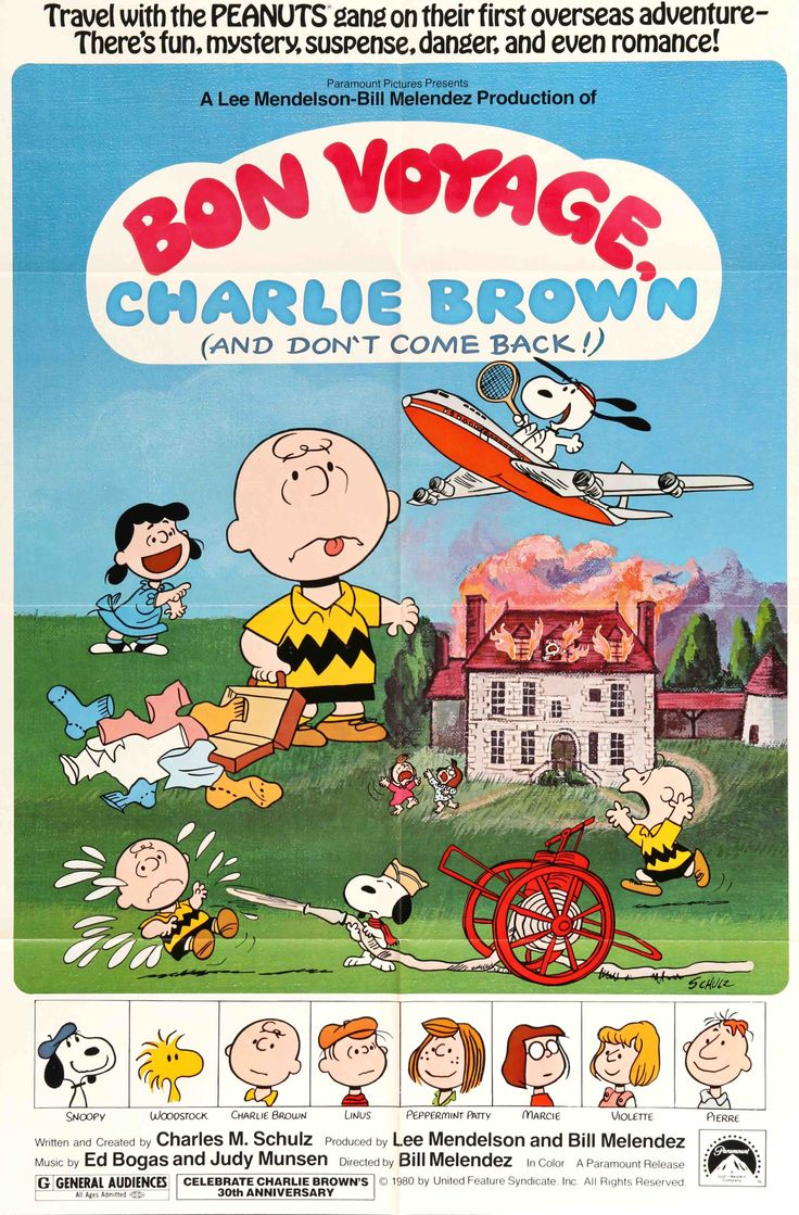 Bon Voyage, Charlie Brown (And Don't Come Back!) (1980)