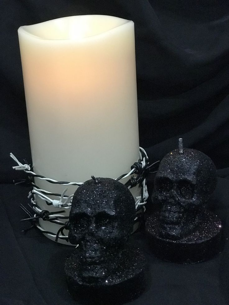 Our LED flameless flickering candles can be decorated to suit any theme...let your creativity go wild!
