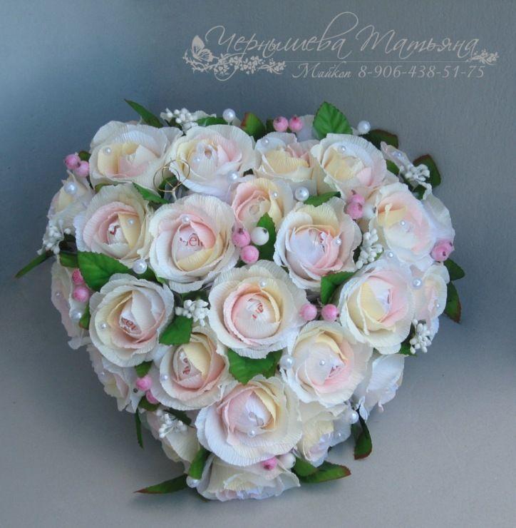Chocolate paper flower bouquet