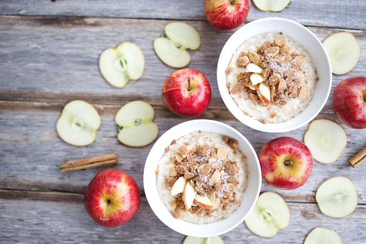 Apple Crumble Porridge