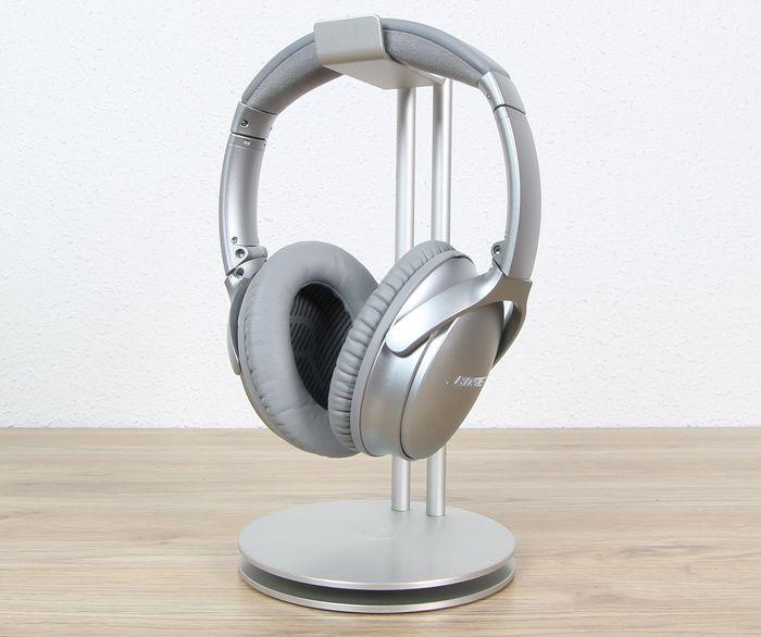 """""""Unsere bisher besten Kopfhörer"""" – so wirbt Bose auf der Website für die 379 EUR kostenden Bluetooth-Over-Ear-Kopfhörer QuietComfort QC35 mit aktiver Geräuschunterdrückung. Wahlwe…"""