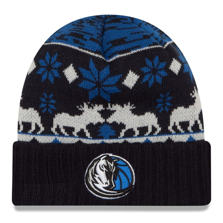 3a63404487d ... order new era navy dallas mavericks nba mooser cuffed knit hat a1f72  c75d8