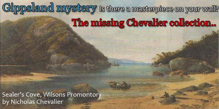 Gippsland mystery - Is there a masterpiece on your wall? by Ann Pulbrook