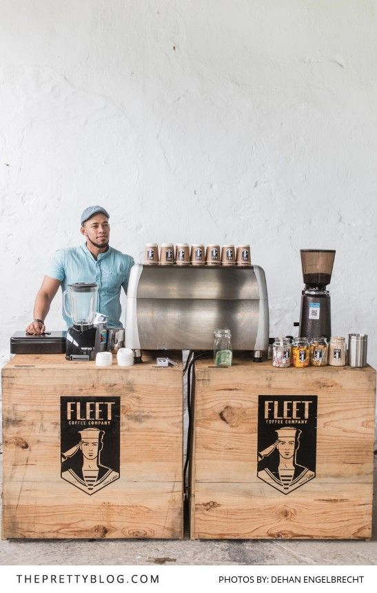 We Love this Modern Coffee Bar at the Usana Estate Market | Photography by Dehan Engelbrecht