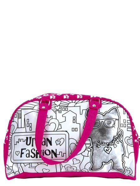 Color Me Mine -laukku (koira) Väritä laukku omaan tyyliisi. Kynät ovat vedenpitäviä, joten laukkua voi käyttää säästä riippumatta. Mukana 5 kynää. 6+