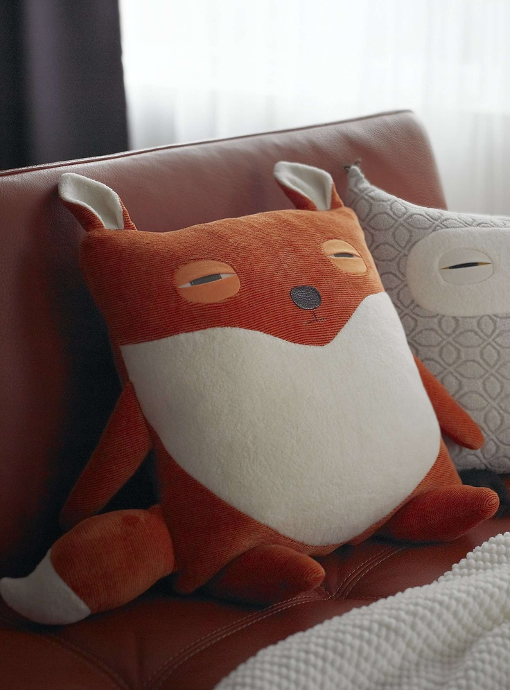 17 Best Ideas About Fox Pillow On Pinterest Fox Con