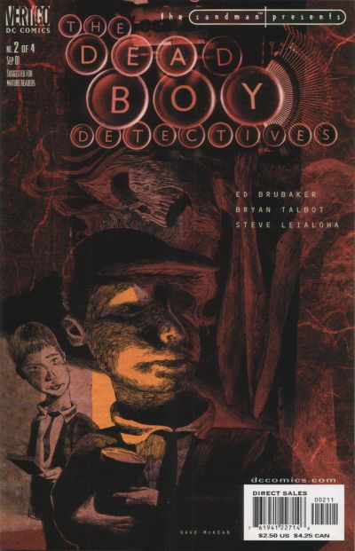 Cover for The Sandman Presents: Deadboy Detectives (DC, 2001 series) #2