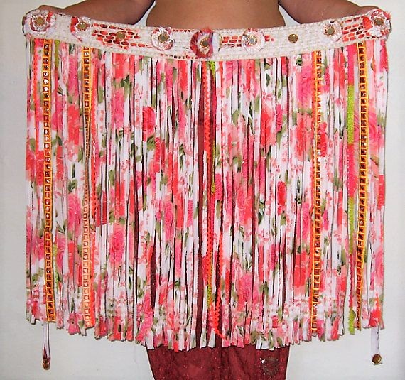 SALE Gypsy fringe KizzyBelly dance beltBelly dancingGypsy