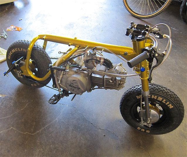 Honda Z50A mini trail
