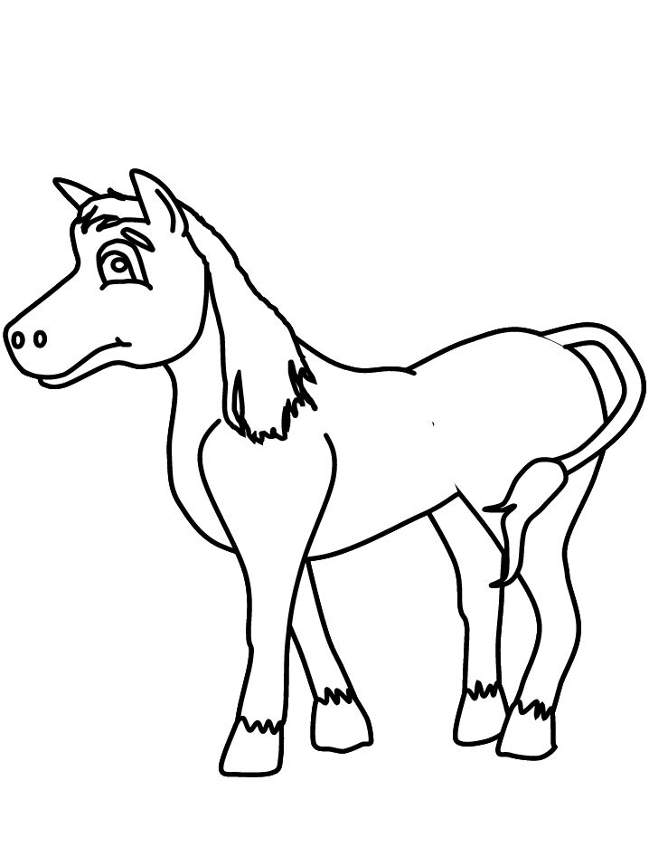 19 best Horse Coloring Pages images on Pinterest Horse coloring