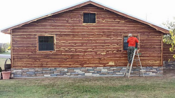 15 Best Images About Live Edge Cedar Siding By Wild West