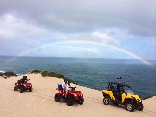 Wagoe Beach Quad Bike Tours, call 9937 1104 to book, www.kalbarri.org.au