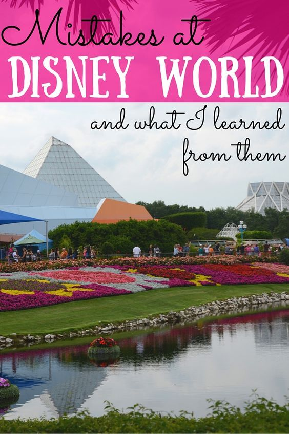 Every trip to Walt Disney World results in new knowledge for how to make the next trip even better. Here are 5 mistakes we've made at the parks and how you can learn from them for your next vacation!