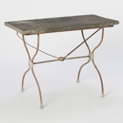 Terrain Slate Bistro Table #shopterrain