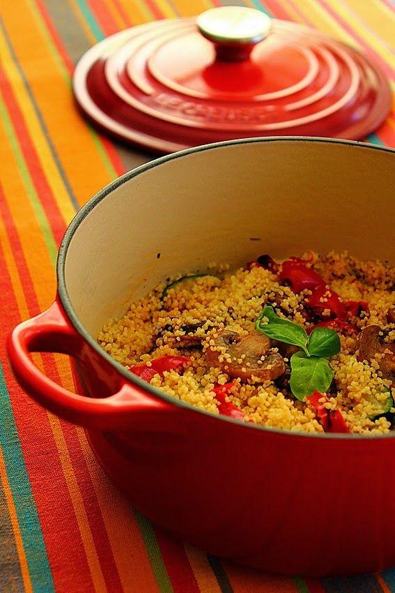 Cozinhadaduxa: Couscous com Legumes Grelhados