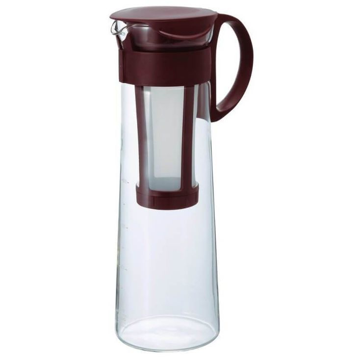Brew cold brew coffee the easy way with the Hario Cold Brew Pot 1 L. Built with a heatproof Hario glass carafe and a BPA-Free plastic filter and lid, it doesn't get much simpler that this.