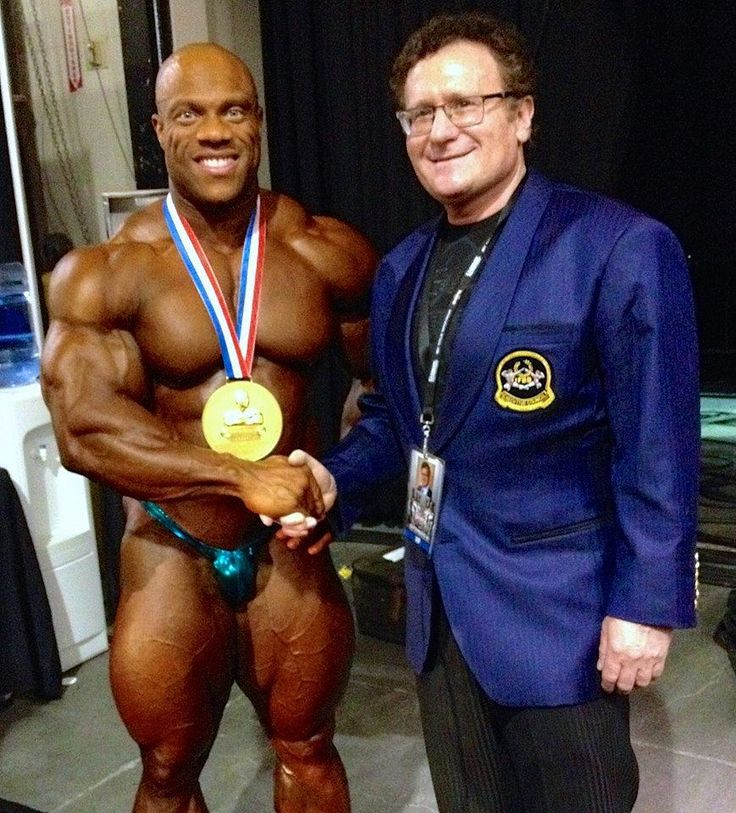 6 Time Mr Olympia Phil Heath & DrRobert Goldmanbackstage just following Mr Olympia crowning. Mr Olympia Weekend was off the hook. 'The Rock' Dwayne Johnson and Arnold Schwarzenegger were there as well as so many body building fitness legends. Good friends Mr Olympia Phil Heath took his 6th Mr. Olympia title and Ms Fitness Olympia Oksana Grishina did it again. Great comeback by buddy Kevin Levrone at age 52 Best Olympia ever. Big album with hundreds of photos coming soon…