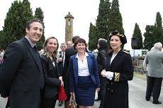 Line Banzept Audrey Dufresse et Mme Caplat Sous Préfet de l'Ariège.