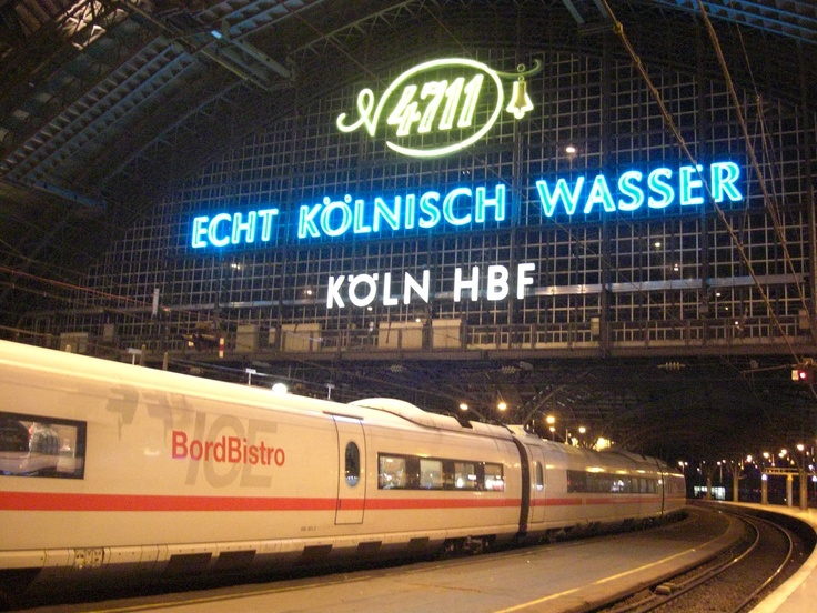 Köln Main Trainstation